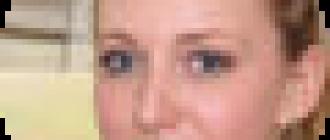 Определение формы бровей по овалу лица