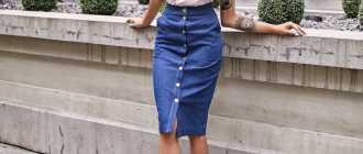 Джинсовые юбки: возвращение трендов 90-х годов